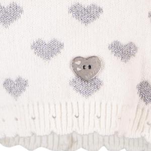 Caciula tricot inimioare Boboli