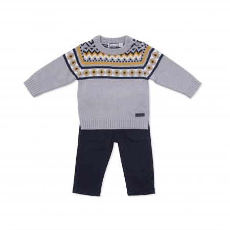 Compleu pulover si pantalon Babybol