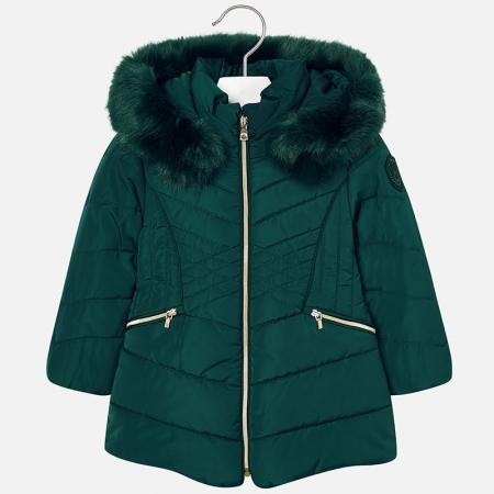 Geaca iarna fetite Mayoral, verde1