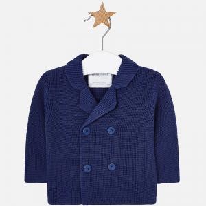Jacheta baiat tricot Mayoral, navy