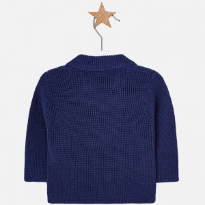 Jacheta baiat tricot Mayoral, navy1