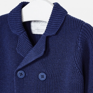 Jacheta baiat tricot Mayoral, navy2