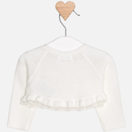 Mayoral - Bolero tricot fete crem
