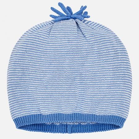 Mayoral - Caciula bebe baiat tricot, culoare blue
