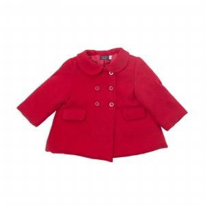 Palton fete rosu, matlasat, Babybol