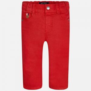Pantalon baiat rosu Mayoral