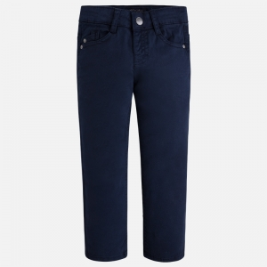 Pantalon elegant baiat Mayoral navy