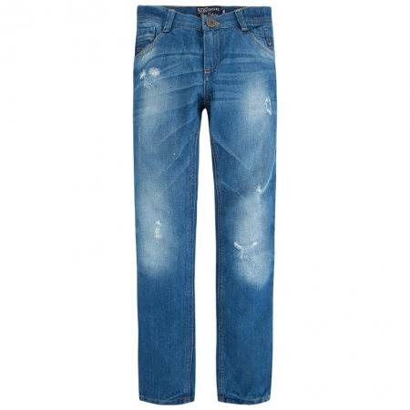 Pantalon jeans baiat, aspect uzat, Mayoral