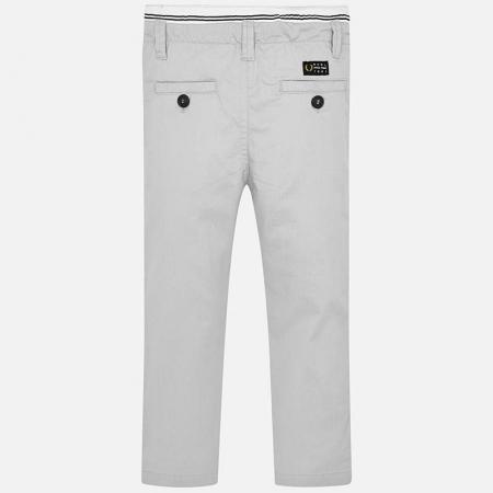Pantalon lung baiat chino slim fit gri Mayoral2