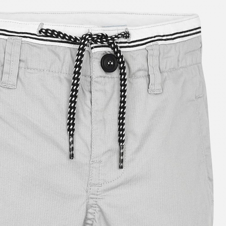 Pantalon lung baiat chino slim fit gri Mayoral3
