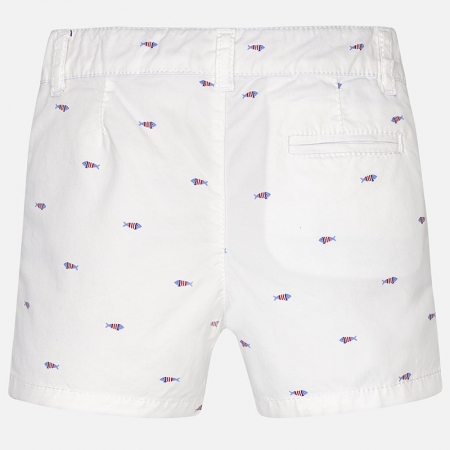 Pantalon scurt cu imprimeu baiat Mayoral