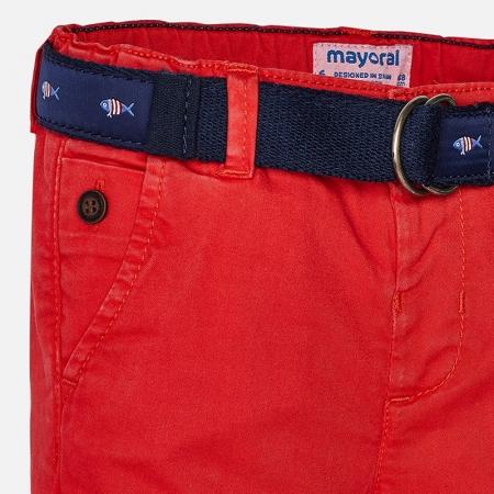 Pantaloni lungi baiat cu curea Mayoral