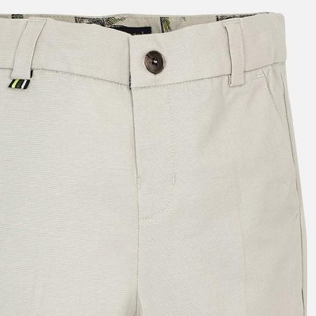 Pantaloni chino lungi de in costum baiat 2-9 ani Mayoral, bej2