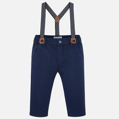 Pantaloni cu bretele baieti, Mayoral
