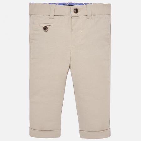 Pantaloni eleganti baieti Mayoral Bej0