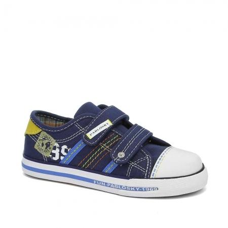 Pantofi sport baieti Pabloski, navy