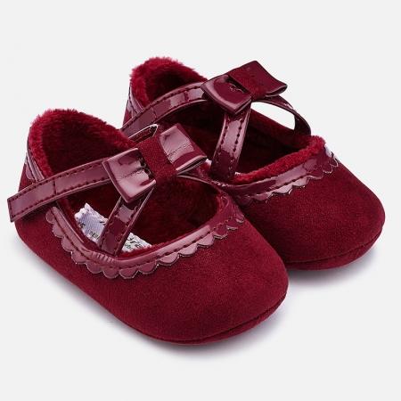 Pantofiori bebe grena, Mayoral