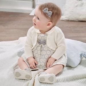Rochie bebe fetita Mayoral gri