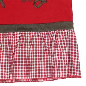 Rochie fetita cu maneca lunga, Boboli, rosie