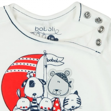 Salopeta bebe vara cu aspect dublu  Boboli