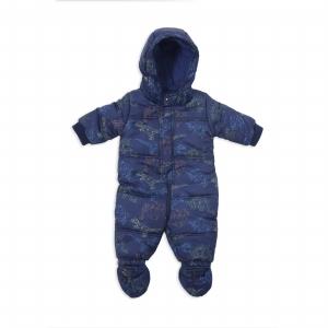 Salopeta iarna baieti Babybol bleumarin