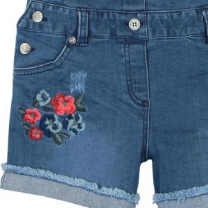 Salopeta jeans vara fete Boboli
