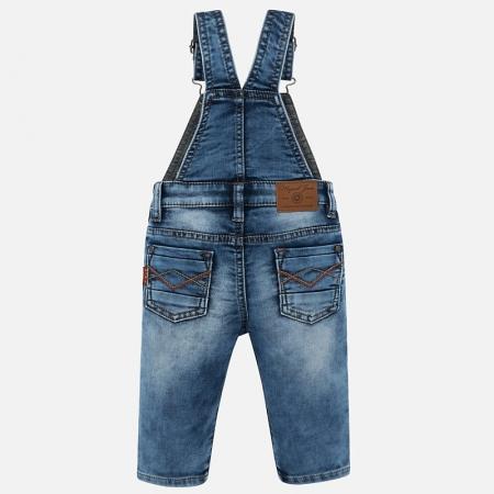 Salopeta lunga jeans bebe baiat Mayoral1