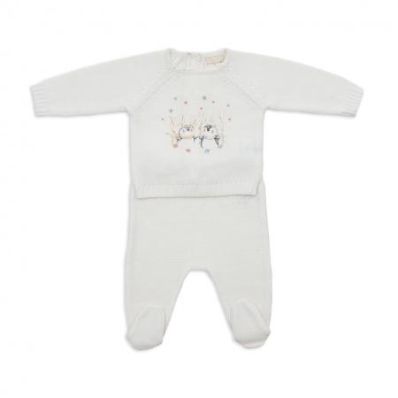 Set tricotat bebe 2 piese Babybol