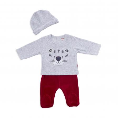 Set tricou+pantalonas+caciulita bebe Babybol