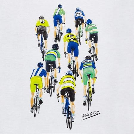 Tricou baiat 2-9 ani Mayoral, imprimeu ciclisti1