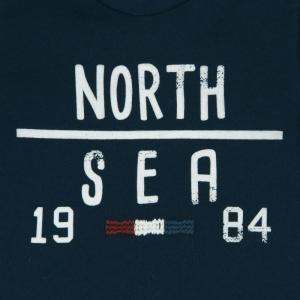 Tricou baieti navy