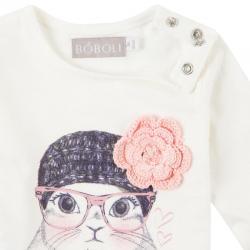 Tricou cu floare Boboli
