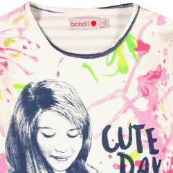 """Tricou fete """"Cute Day"""" Boboli2"""