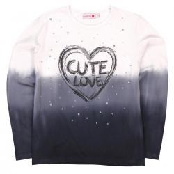"""Tricou fete """"Cute Love"""" Boboli"""