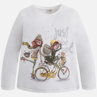 Tricou fetite imprimeu Mayoral