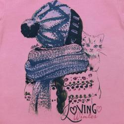Tricou lila fete Boboli