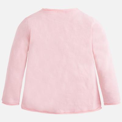Tricou maneca lunga fetite roz Mayoral1