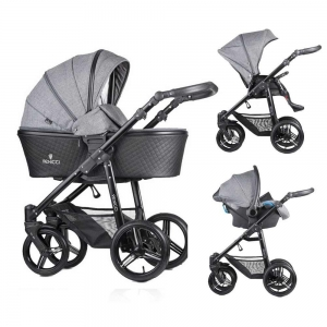 Carucior 3 in 1 Venicci Editie Speciala Shadow Grey