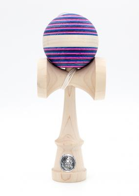 KENDAMA SWEETS HOMEGROWN MAPLE FUCHSIA FLASH MAPLE STRIPE