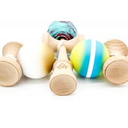 KENDAMA SWEETS PRIME CUSTOM V8 - WILLY P THROWBACK - CUSHION CLEAR