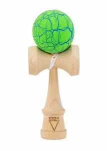 KENDAMA KROM CRACK GREEN & BLUE