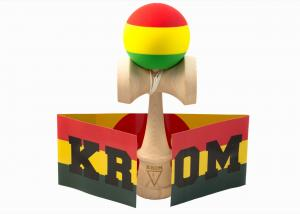 KENDAMA KROM RASTA MAPLE3
