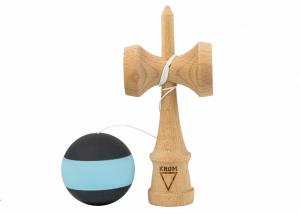KENDAMA KROM RUBBER STRIPES BLACK & SEA FOAM