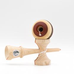 KENDAMA SWEETS HOMEGROWN NEXT GEN – SPLICE V2 – ASH PADAUK WALNUT – CUSHION CLEAR