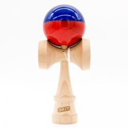 KENDAMA SWEETS SUMO | BLUE RED HALF SPLIT
