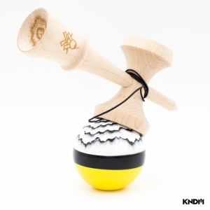 KENDAMA SWEETS X LUZUMAKI - HALF SPLIT YELLOW