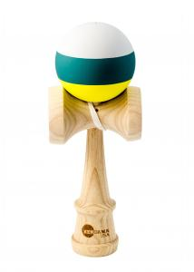 KENDAMA USA KAIZEN 2.0 - TRIP SPLIT - ASH - GREY GREEN YELLOW0