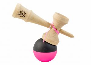 KENDAMA USA TRIBUTE HALF SPLIT NEON PINK AND BLACK