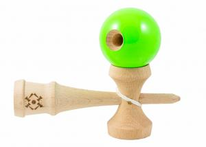 KENDAMA USA TRIBUTE NEON GREEN