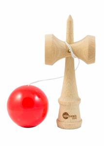 KENDAMA USA TRIBUTE SUPER STICK FIRE RED